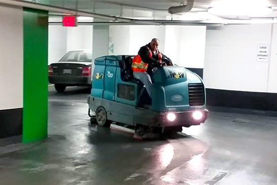 Mobile Scrubbing